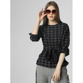 Vero Moda Women Casual Wear Chest Print Top