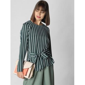 Vero Moda Women Casual Wear Striped Top