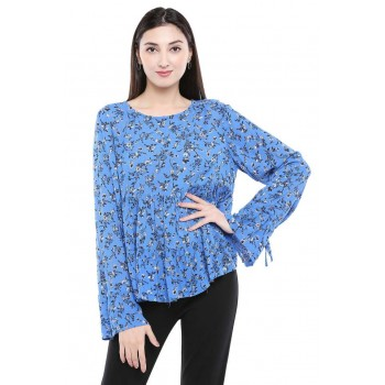 Vero Moda Women Casual Wear Floral Print Top
