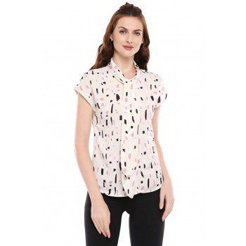 Vero Moda Women Casual Wear Printed Top
