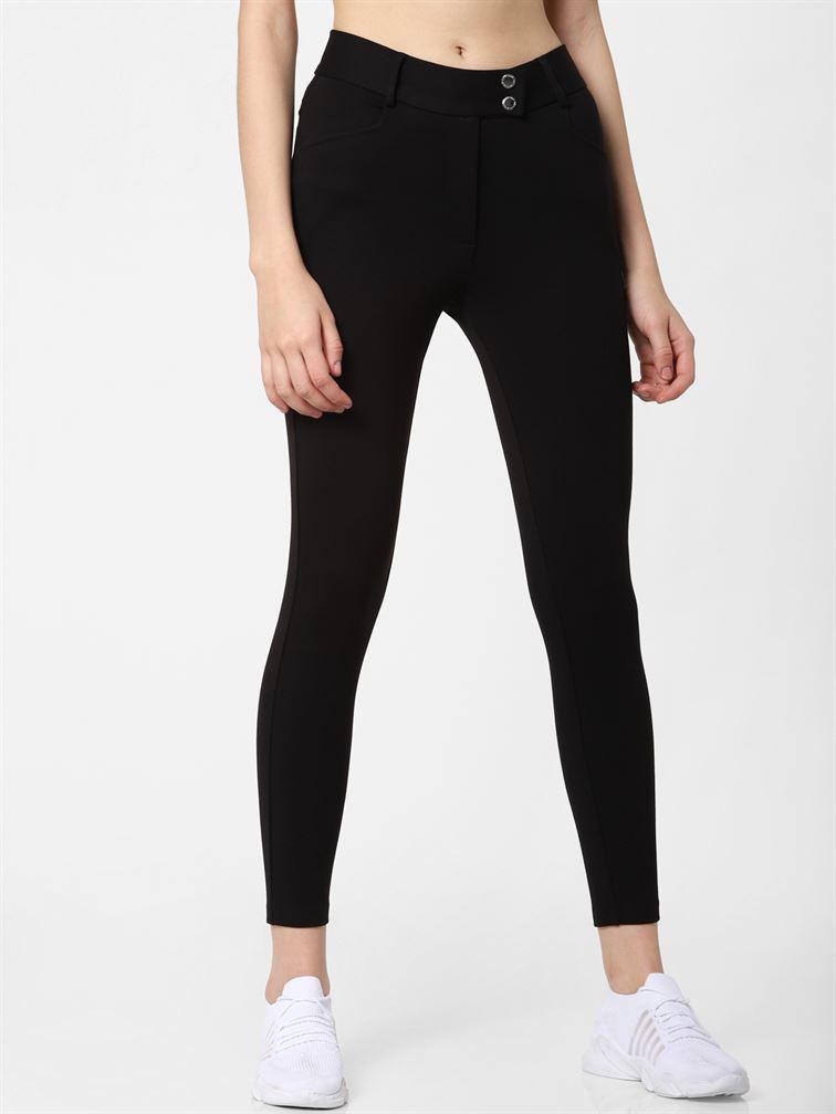 Only Women Casual Wear Black Legging