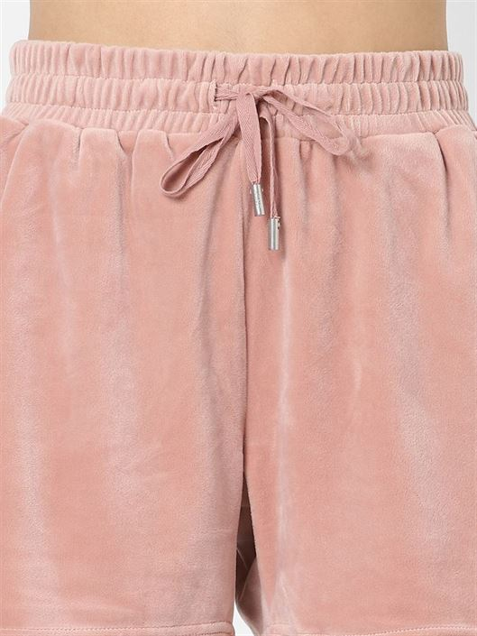 Only Women Casual Wear Pink Shorts