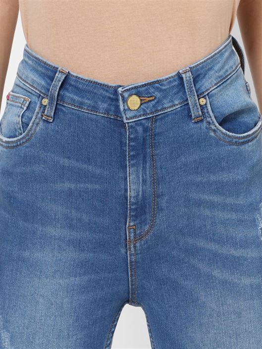 Only Women Casual Wear Blue Jeans