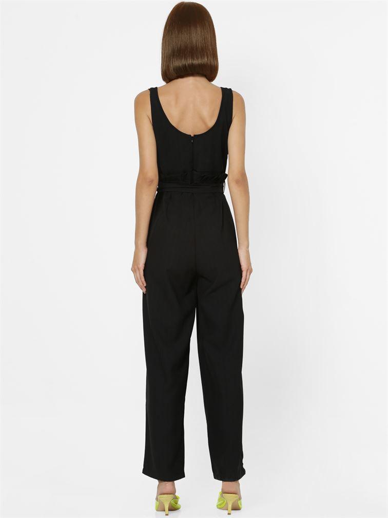 Only Women Casual Wear Black Jumpsuit