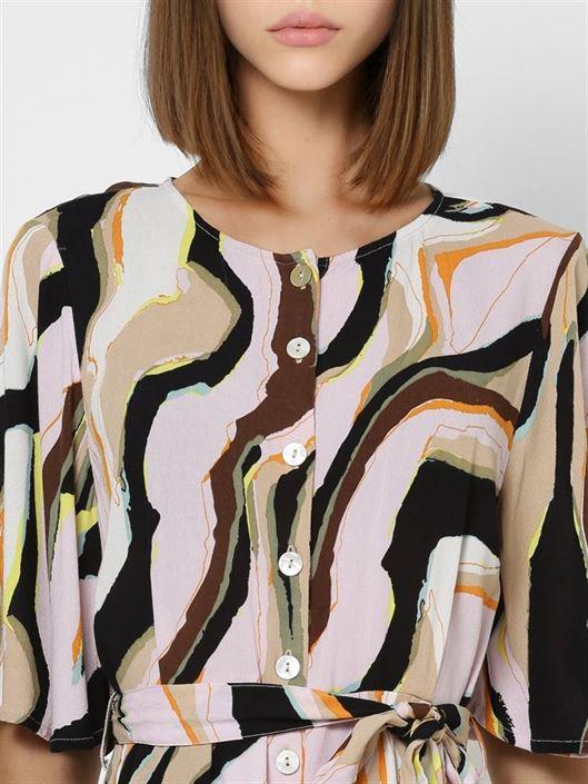 Only Women Casual Wear Multicolor Jumpsuit