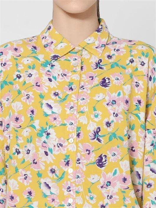 Only Women Casual Wear Yellow Shirt