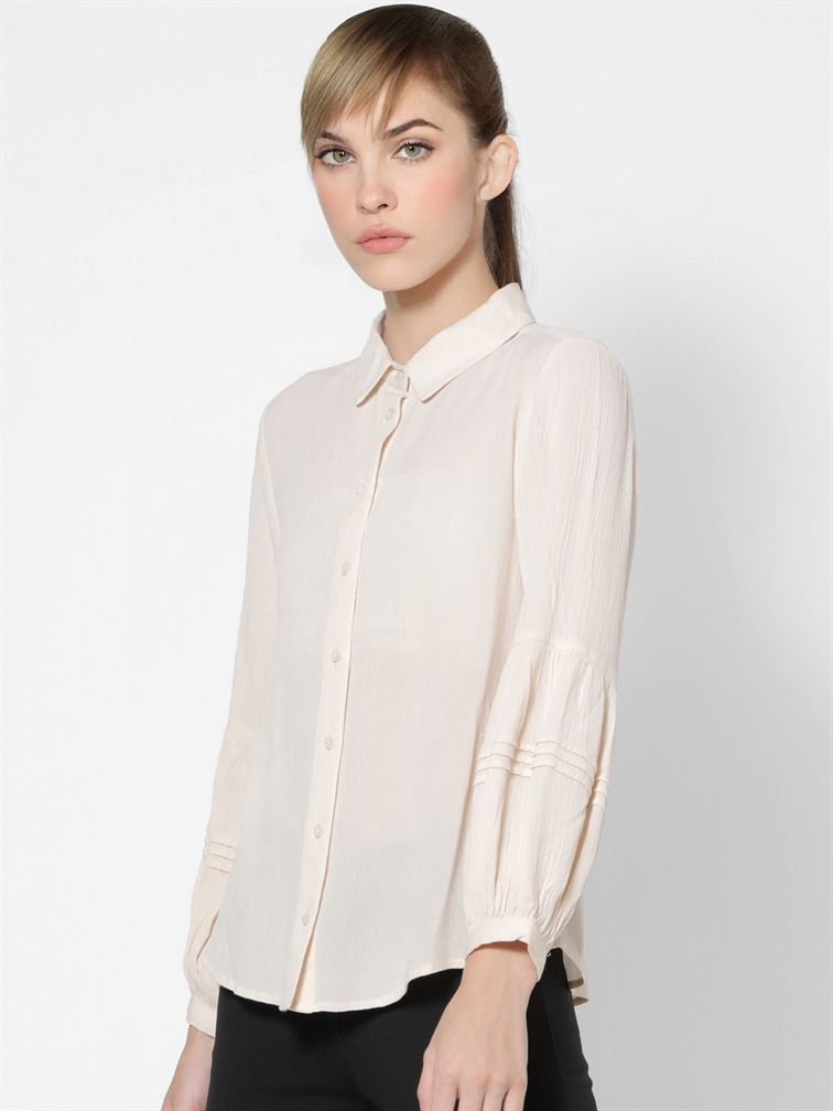 Only Women Casual Wear Pink Shirt