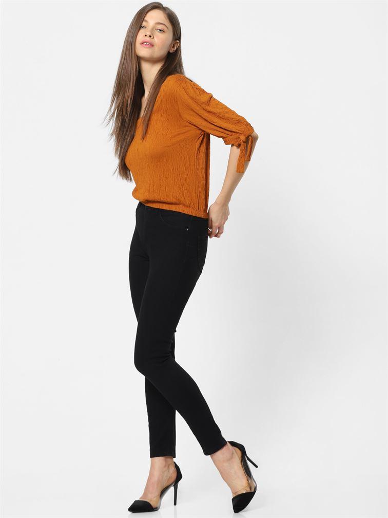 Only Women Casual Wear Black Jeans