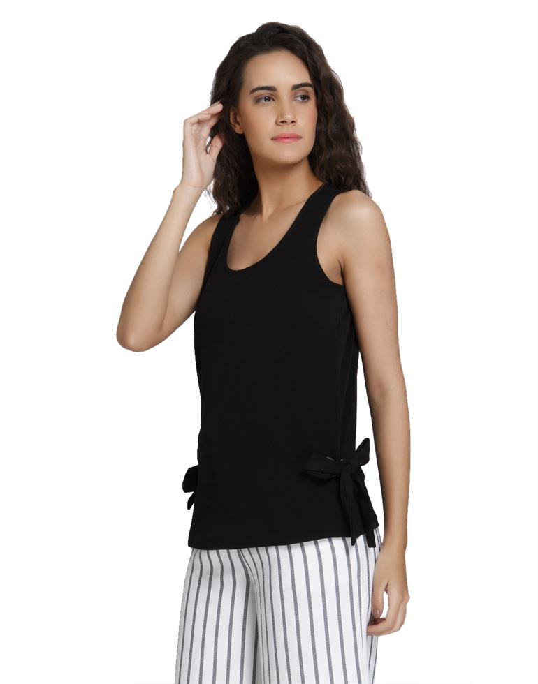 Vero Moda Women's Sleeveless Black Top