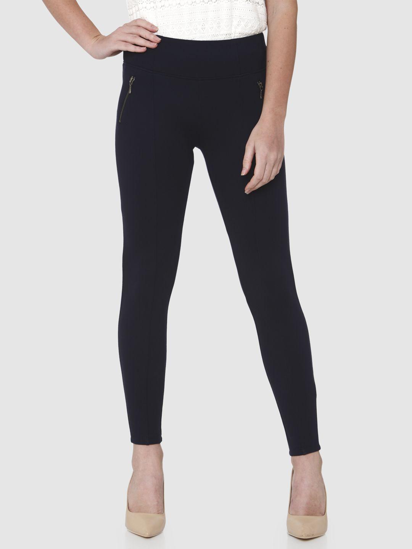 Vero Moda Women Solid Casual Wear Leggings