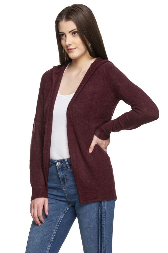Vero Moda Women Casual Wear Solid Cardigan