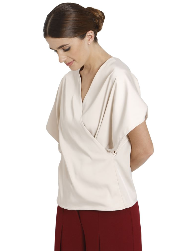 Vero Moda Women Casual Wear Wrap Top